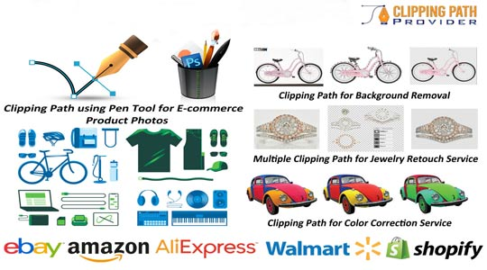 clipping path service for e-commerce